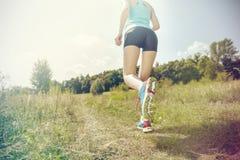 Courir le matin Image stock
