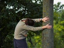 Courir/Streching sauvegarde les ligaments Photographie stock libre de droits