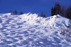 Courmayeur Ιταλία Στοκ φωτογραφίες με δικαίωμα ελεύθερης χρήσης