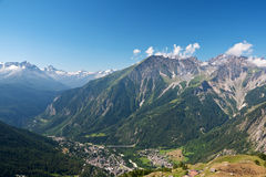 Courmayeur, Italy Royalty Free Stock Images