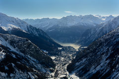 Courmayeur - Italy Stock Images