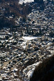 Courmayeur - Italy Stock Photo