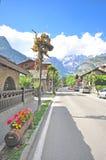 Courmayeur, Italy Stock Image