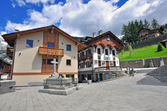 Courmayeur Stock Photography