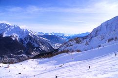 Courmayeur Italy Royalty Free Stock Photos