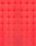 Couro acolchoado vermelho Imagem de Stock