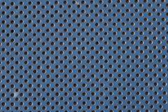 Couro azul imagem de stock royalty free