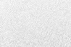 Couro branco do nappa Fotografia de Stock Royalty Free