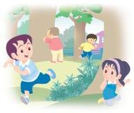 Couro cru - e - busca ilustração royalty free
