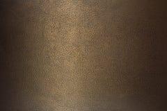 Couro de bronze da textura Fotografia de Stock