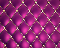 Couro genuíno violeta ilustração royalty free