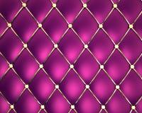 Couro genuíno violeta Fotos de Stock Royalty Free
