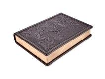 Couro-limite do livro fechado Imagem de Stock Royalty Free