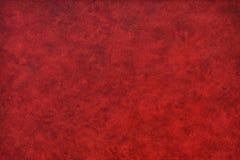 Couro vermelho, preto vívido Fotografia de Stock Royalty Free