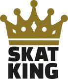 Couronne de roi de Skat illustration stock