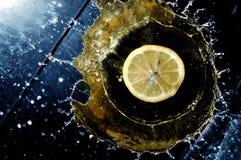 Couronnement du citron Photographie stock