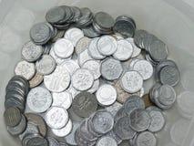 Couronnes tchèques de pièces de monnaie Photos libres de droits