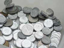 Couronnes tchèques de pièces de monnaie Photographie stock libre de droits
