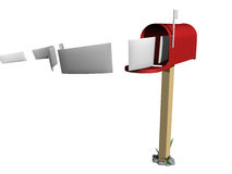 Courrier Image stock