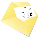 Courrier Photographie stock