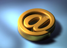 courrier 3d Image stock