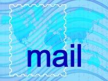 Courrier Images libres de droits