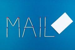 courrier Photo stock