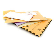 courrier photo stock