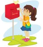 courrier Photos stock