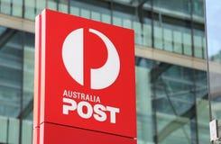 Courrier d'Australie photos libres de droits