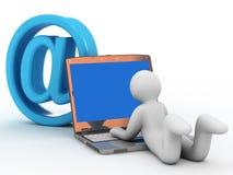 courrier d'e Photos libres de droits