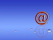 courrier d'e Photo stock