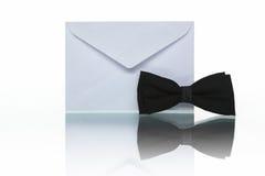 Courrier d'invitation Photo stock