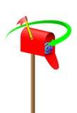 courrier de cadre illustration libre de droits