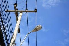 Courrier de l'électricité Photographie stock libre de droits