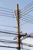 Courrier de l'électricité Photographie stock