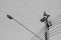 Courrier de l'électricité Images libres de droits