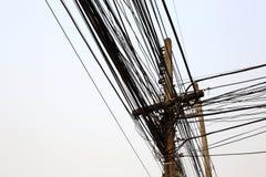 Courrier de l'électricité Images stock