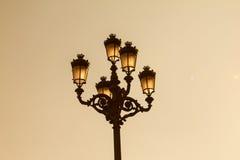 Courrier de lampe Image libre de droits