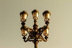 Courrier de lampe Photos stock