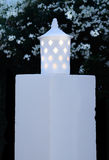 Courrier de lampe blanche Photo libre de droits