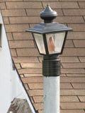Courrier de lampe de pelouse Photo stock