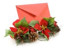 courrier de Noël Photo libre de droits