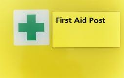 Courrier de premiers secours Photo libre de droits