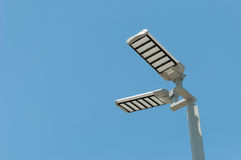 Courrier de réverbères de LED Photographie stock libre de droits
