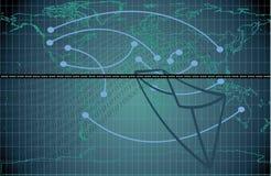 Courrier de Web image libre de droits