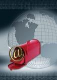 courrier de Web Photos stock