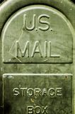 Courrier des USA Photographie stock