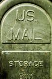 Courrier des USA photographie stock