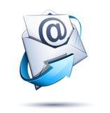 courrier du concept e Photo libre de droits